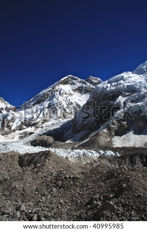 Last view of Everest on the way to Base camp - Nepal