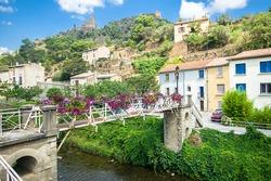 Lastours in France