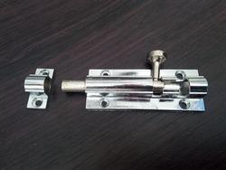 Latch lock for additional door lock.