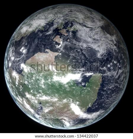 Late Cambrian Earth
