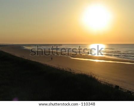 Late Summer Beach Sunrise