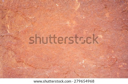 Laterite stone surface