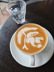 Latte Art at Oldtown Songkla