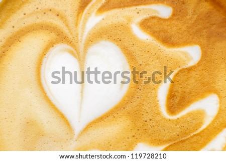 Latte Art, coffee