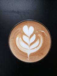 Latte Art Latte Cappucino Tulip