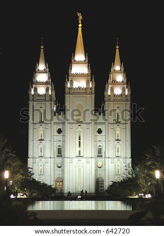 Latter Day Saints Temple (Salt Lake City)