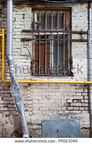 how to run network cables with brick walls