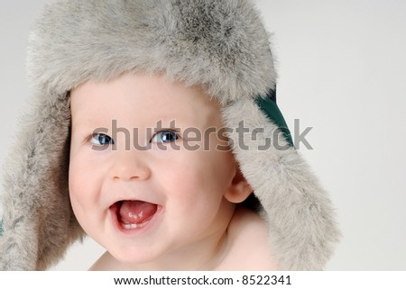 Laughing baby boy 3