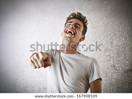 Laughing Young Guy