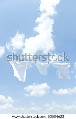 Laundry on day when it cleared up