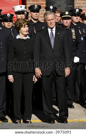 Laura and George Bush
