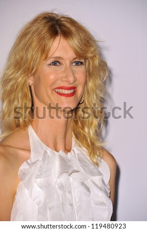 Laura Dern at the 26th Annual American Cinematheque Awards Ceremony honoring actor Ben Stiller at the Beverly Hilton Hotel. November 15, 2012  Beverly Hills, CA Picture: Paul Smith
