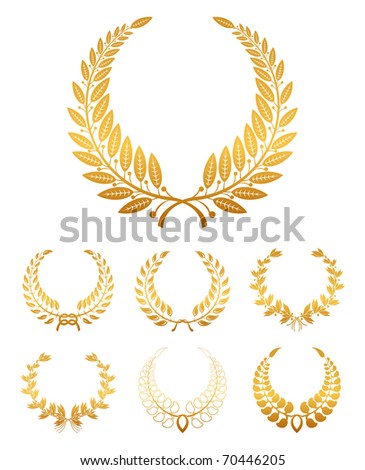 Laurel wreath, Bitmap copy