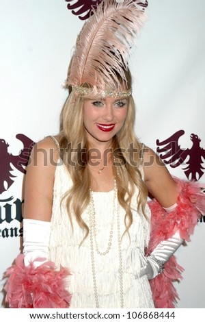 Lauren Conrad  at the Pur Jeans Halloween Bash. STK, Los Angeles, CA. 10-31-08