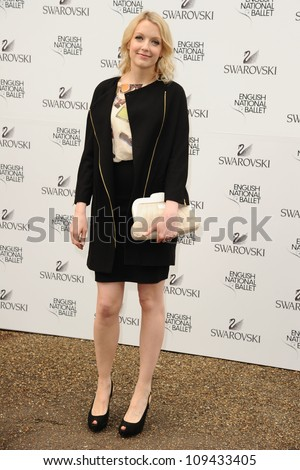 Lauren Laverne arriving for the English National Ballet's summer party, Kensington Palace Orangery, London. 27/06/2012 Picture by: Steve Vas / Featureflash
