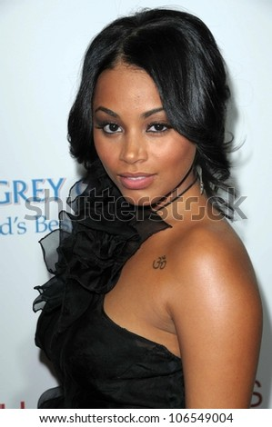Lauren London  at the Los Angeles Premiere of 'Cadillac Records'. The Egyptian Theater, Hollywood, CA. 11-24-08