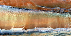 lava flow, abstract photography of the deserts of Africa from the air, emulation  of the volcano of La Palma, Canary Islands, Genre: Abstract Naturalism, from the abstract to the figurative,