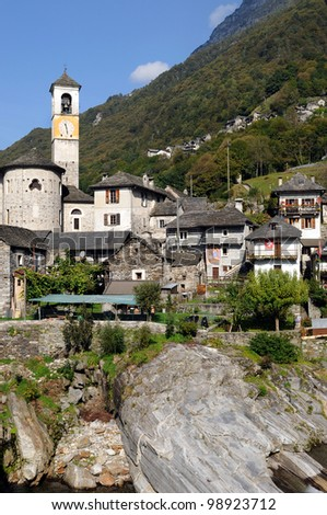 Free photos Laverzetto is an idyllic place in Verzasca-valley in ...