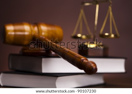 Law and justice concept, Gavel
