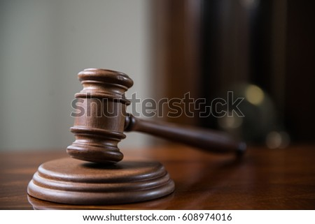 law concept closeup of gavel in court room ez canvas
