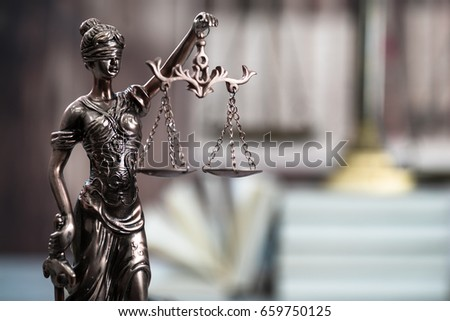 law concept  mallet of the...