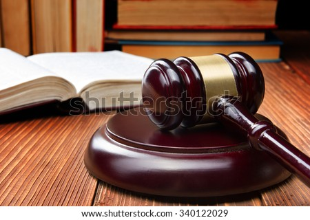 law concept   open law book...