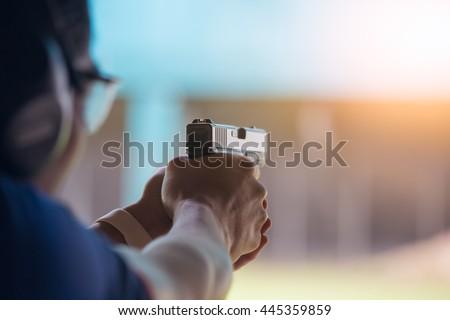 law enforcement aim pistol by...