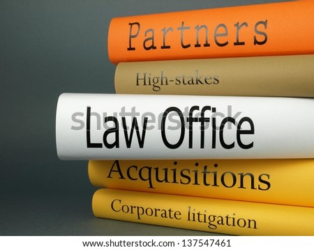 Law office (book titles)