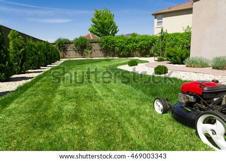 Lawn mower #469003343