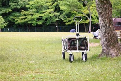 Lawn open space and outdoor wagon outdoor image