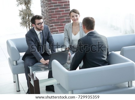 lawyer carries out consultation with their clients #729935359