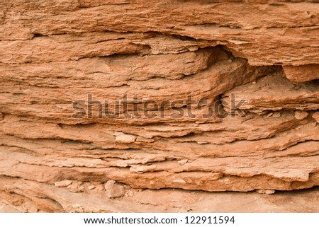 Layer of mountain. as a background.Grand Canyon. USA