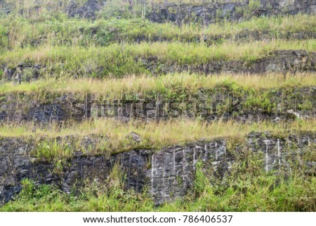 layer of rock formation #786406537