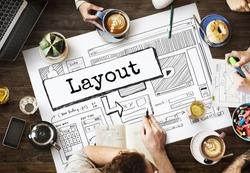 Layout Template Website Design Web Concept