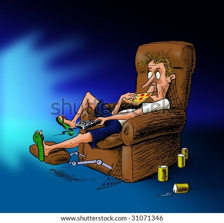 tv watching makes you lazy Also watching tv probably means you are less willing to spend extra time preparing a healthy meal thus, watching tv can lead to a less healthy lifestyle, which can lead to larger health costs.