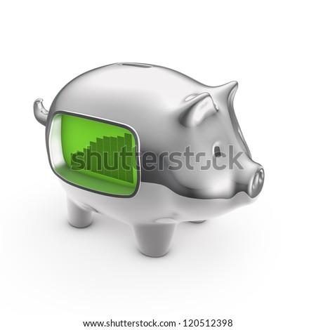 LCD piggybank