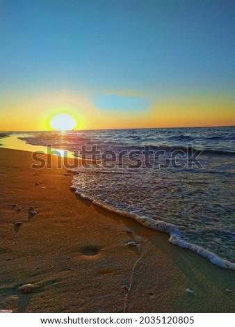 le coucher du soleil DANS LA MEDINA CASABLANCA Foto stock ©