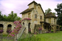 Le Moulin located in the Queen�s hamlet in the Trianon � Versailles, France