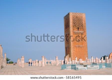 Le Tour Hassan, Rabat, Morocco