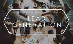 Lead Generation Analysis Business Concept