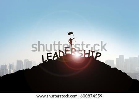 Leadership concept #600874559