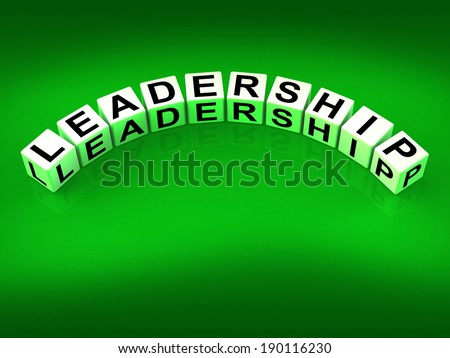 Leadership Dice Meaning Guidance Influence And Management