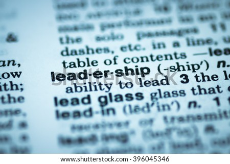 Leadership enterprise company business concept and vision