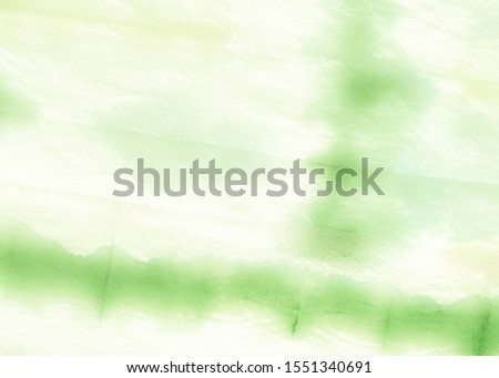 Leafy Color Dirty Art Painting. Spring Green Summer Evening Light. Lime Abstract Texture. Fresh Green Retro Watercolor Print. Natural Green Sustainable Development.