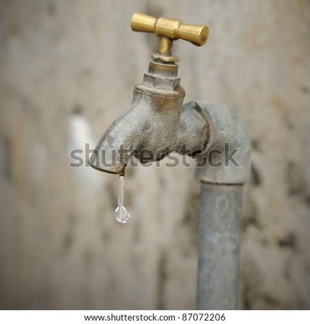Leaking water