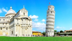 Leaning Pisa Tower, Italy
