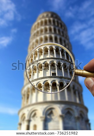 leaning tower of pisa  italy...