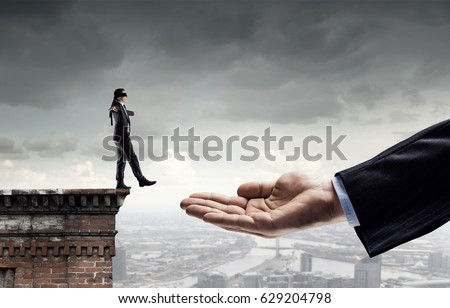 Leap of faith concept - Shutterstock ID 629204798