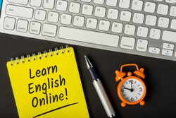 Learn English - Online english learning program or tutorial