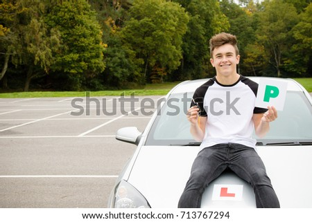 Learner Driver passed his driving test
